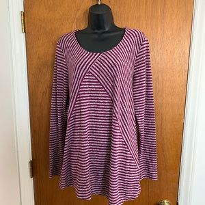Kim Rogers XL Tunic Knit Shirt Great Condition